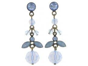 Marguerite - modrá Náušnice > Puzety - 5450543082875