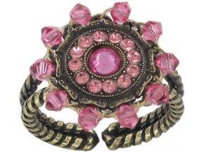 Maharani - růžová Prsteny - 5450543085401