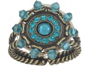 Maharani - modrá Prsteny - 5450543085470