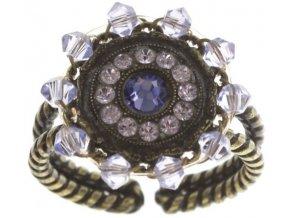 Maharani - fialová Prsteny - 5450543085487