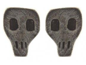 Gothic - stříbro/bronz Náušnice > Puzety - 5450543087511