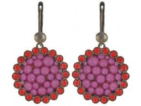 Bubbling - růžová Náušnice > Francouzské zapínaní - 5450543104850