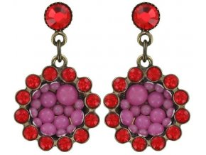 Bubbling - růžová Náušnice > Puzety - 5450543104911