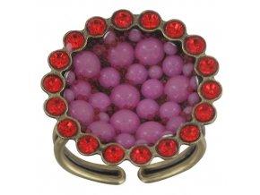Bubbling - růžová Prsteny - 5450543105994