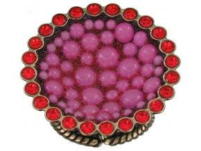 Bubbling - růžová Prsteny - 5450543106502