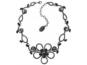 Cathedral Flower - černá Náhrdelníky - 5450543119243