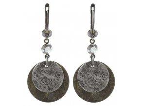 Inkas in Manhattan - stříbro/bronz Náušnice > Francouzské zapínaní - 5450543140728