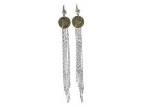 Inkas in Manhattan - stříbro/bronz Náušnice > Klasickézapínání - 5450543140735