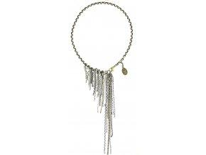 Ice Waterfalls - stříbro/bronz Náhrdelníky - 5450543140803