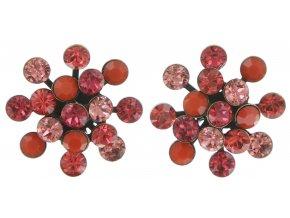 Magic Fireball - červená Náušnice > Puzety - 5450543145761
