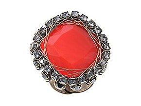 Queen of Elves - černá/červená Prsteny - 5450543162768