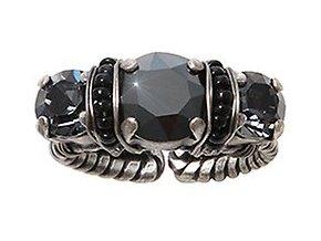 Byzantine - černá Prsteny - 5450543166780
