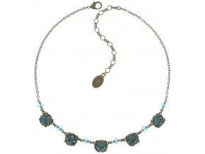 Byzantine - modrá/zelená Náhrdelníky - 5450543166988