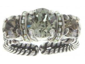 Byzantine - šedivá Prsteny - 5450543167411