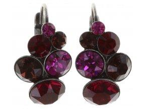 Petit Glamour - růžová Náušnice > Klasickézapínání - 5450543180496