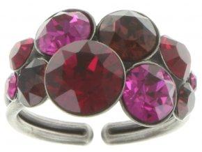 Petit Glamour - růžová Prsteny - 5450543180526