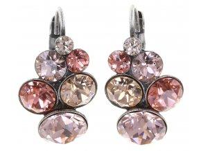 Petit Glamour - beige/pink Náušnice > Klasickézapínání - 5450543180564