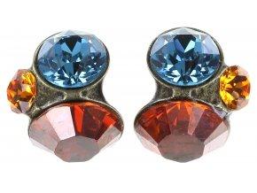 Disco Star - multi/více barev Náušnice > Puzety - 5450543181035
