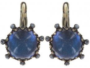 Jelly Fish Wedding - modrá Náušnice > Klasickézapínání - 5450543191850