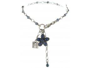 Ovaly - modrá Náramky > Klasické - 5450543195070