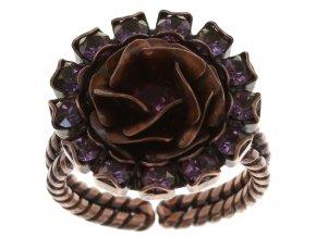 Burlesque - růžová Prsteny - 5450543197272