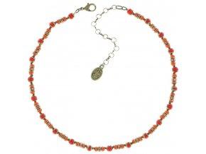 Glamour d'Afrique - oranžová Náhrdelníky - 5450543219899