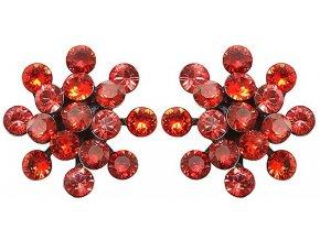 Magic Fireball - červená Náušnice > Puzety - 5450543222165