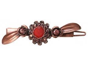 In Honor of the Rose - červená Módní doplňky > Sponky - 5450543236124
