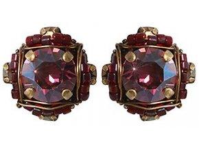Byzantine - fialová Náušnice > Puzety - 5450543240251