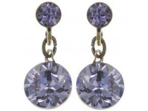 Dangling Tutui - fialová Náušnice > Puzety - 5450543243979