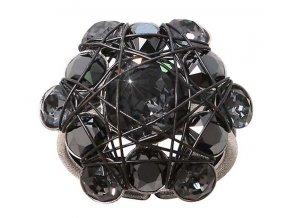 Bended Lights - černá Prsteny - 5450543249056