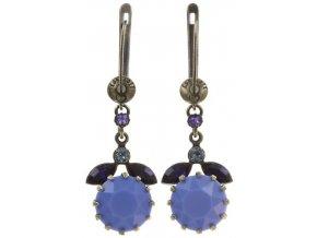 La Maitresse - fialová Náušnice > Francouzské zapínaní - 5450543253510