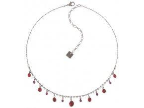 Dangling Tutui - červená/růžová Náhrdelníky - 5450543258201