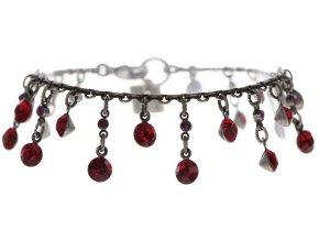 Dangling Tutui - červená/růžová Náramky > Klasické - 5450543258249