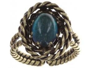 Twisted Lady - modrá Prsteny - 5450543293936