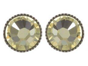 Black Jack - žlutá Náušnice > Puzety - 5450527667821