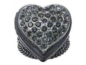 Burlesque - černá Prsteny - 5450543194813