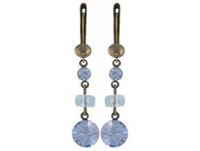Dangling Tutui - fialová Náušnice > Francouzské zapínaní - 5450543041766