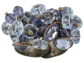 Dangling Tutui - fialová Prsteny - 5450543041803