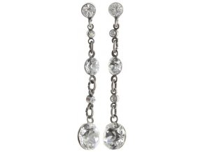 Dangling Tutui - bílá Náušnice > Puzety - 5450543259314