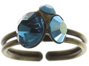 Disco Star - modrá Prsteny - 5450527786379