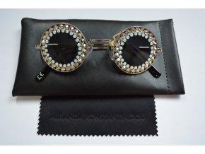 Fashion Glasses - šedivá/bílá Módní doplňky  > Brýle - 5450543087597