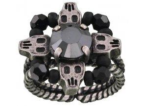 Gothic - černá Prsteny - 5450543064833