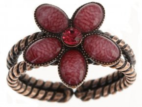 Ovaly - růžová Prsteny - 5450543199122