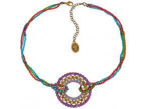 Paisley African - multi/více barev Náhrdelníky - 5450527978538