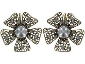 Flamenco - barva šedivá - Náušnice > Klasickézapínání - 5450543455587