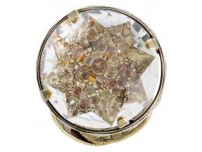 Medieval Pop - barva bílá/hnědá - Prsteny - 5450543634982