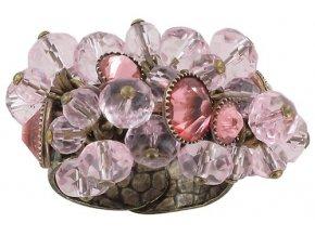 Dangling Tutui - růžová Prsteny - 5450543038896