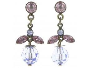 Marguerite - fialová Náušnice > Puzety - 5450543083018
