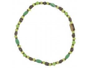Petit Glamour d´Afrique - zelená Náramky > Elastické - 5450543092119